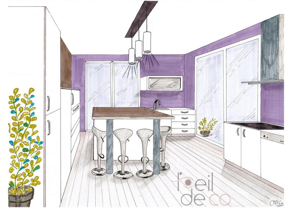 Awesome Salon Moderne En Perspective Ideas - House Design ...